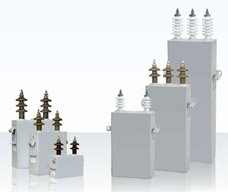 Косинусный высоковольтный конденсатор
